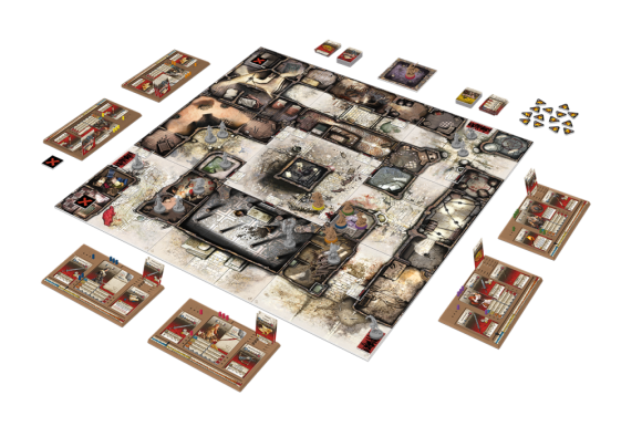 Zombicide: Black Plague layout