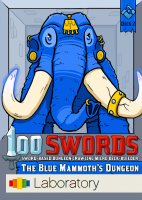 100 Swords: The Blue Mammoth's Dungeon - Board Game Box Shot