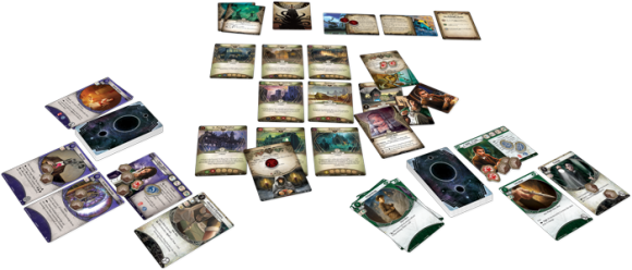 Arkham Horror: The Card Game gameplay