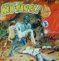 Attack of the Mutants - Board Game Box Shot
