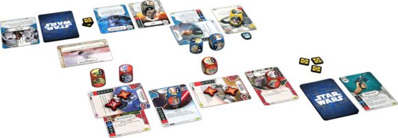Star Wars: Destiny gameplay