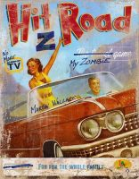 Hit Z Road - Board Game Box Shot