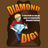 Diamond Dig - Board Game Box Shot
