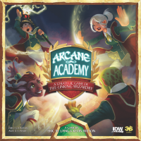 Arcane Academy - Board Game Box Shot