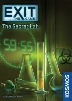 Exit the Game: The Secret Lab - Board Game Box Shot