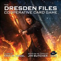 The Dresden Files Cooperative Card Game - Board Game Box Shot