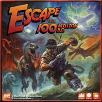 Escape from 100 Million B.C. - Board Game Box Shot