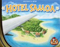 Hotel Samoa - Board Game Box Shot