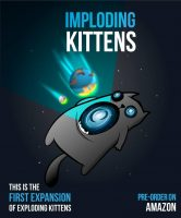 Imploding Kittens - Board Game Box Shot