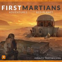 First Martians: Adventures on the Red Planet - Board Game Box Shot