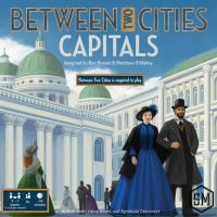 Between Two Cities: Capitals - Board Game Box Shot