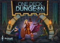 One Deck Dungeon - Board Game Box Shot
