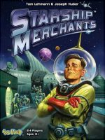 Starship Merchants Board Game - Board Game Box Shot