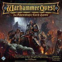 Warhammer Quest: The Adventure Card Game - Board Game Box Shot