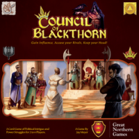 Council of Blackthorn - Board Game Box Shot
