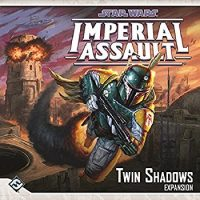 Star Wars: Imperial Assault – Twin Shadows Expansion - Board Game Box Shot