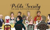 Polite Society: The Jane Austen Board Game - Board Game Box Shot