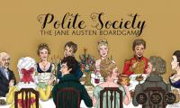 Polite Society: The Jane Austen Board Game - Board Game Box Shot