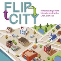 Flip City Board Game - Board Game Box Shot