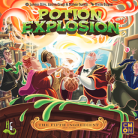 Potion Explosion: The Fifth Ingredient - Board Game Box Shot