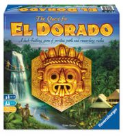 The Quest for El Dorado - Board Game Box Shot
