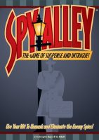 Spy Alley - Board Game Box Shot