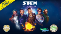 STEM: Epic Heroes - Board Game Box Shot