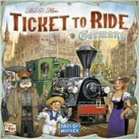 Ticket to Ride: Germany - Board Game Box Shot
