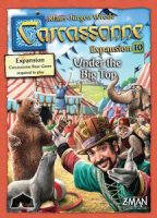 Carcassonne: Under the Big Top - Board Game Box Shot