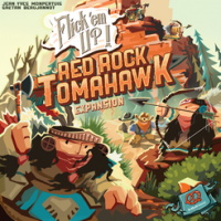 Flick 'em Up: Red Rock Tomahawk - Board Game Box Shot