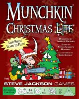 Munchkin Christmas Lite - Board Game Box Shot