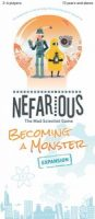 Nefarious: Becoming A Monster - Board Game Box Shot