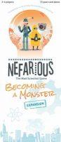 Nefarious: Becoming A Monster - Board Game Box Shot
