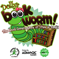 Dolly's Bookworm - Board Game Box Shot