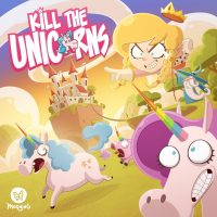 Kill the Unicorns - Board Game Box Shot