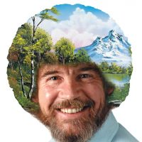Bob Ross: Art Of Chill Game - Board Game Box Shot