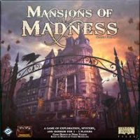 Mansions of Madness (2nd ed) - Board Game Box Shot