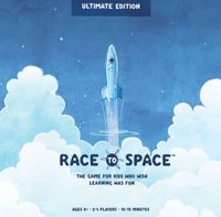 Race To Space: Ultimate Edition - Board Game Box Shot