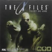 X-Files: Trust No One - Board Game Box Shot