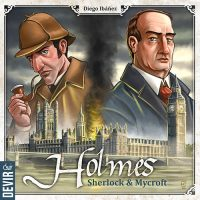 Holmes: Sherlock & Mycroft - Board Game Box Shot