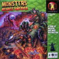 Monsters Menace America - Board Game Box Shot