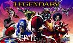 Legendary: A Marvel Deck Building Game – Civil War - Board Game Box Shot