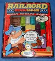 Railroad Rush Hour - Board Game Box Shot