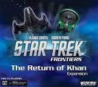Star Trek: Frontiers – The Return of Khan - Board Game Box Shot