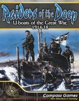 Raiders Of The Deep: U-Boats Of The Great War, 1914-18 - Board Game Box Shot