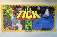 The Tick Board Game! Hip Deep in Evil! - Board Game Box Shot