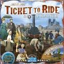 Ticket to Ride: France and the Old West - Board Game Box Shot