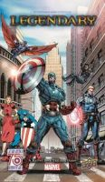 Legendary (Marvel): Captain America - Board Game Box Shot