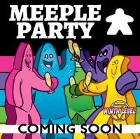 Meeple Party - Board Game Box Shot