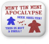 Mint Tin Mini Apocalypse - Board Game Box Shot